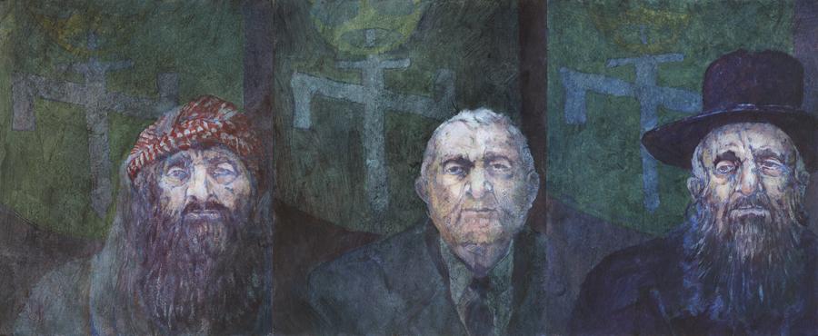 Triptych: Malicious Nasty Man
