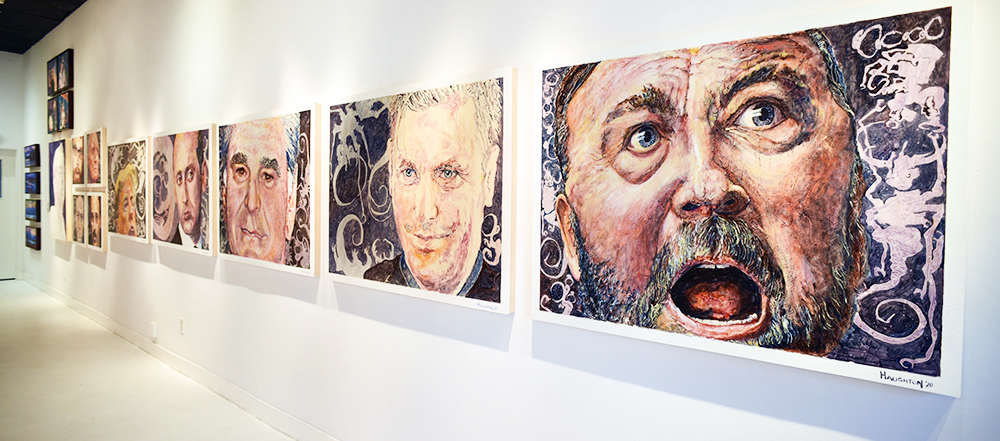Angry White Men III exhibition view